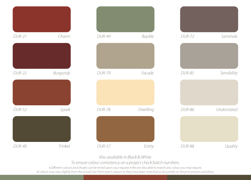 Interior house paint colour charts for Interior house paint color chart